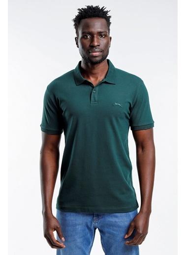 Slazenger Slazenger SALVATOR Erkek T-Shirt Petrol Yeşil